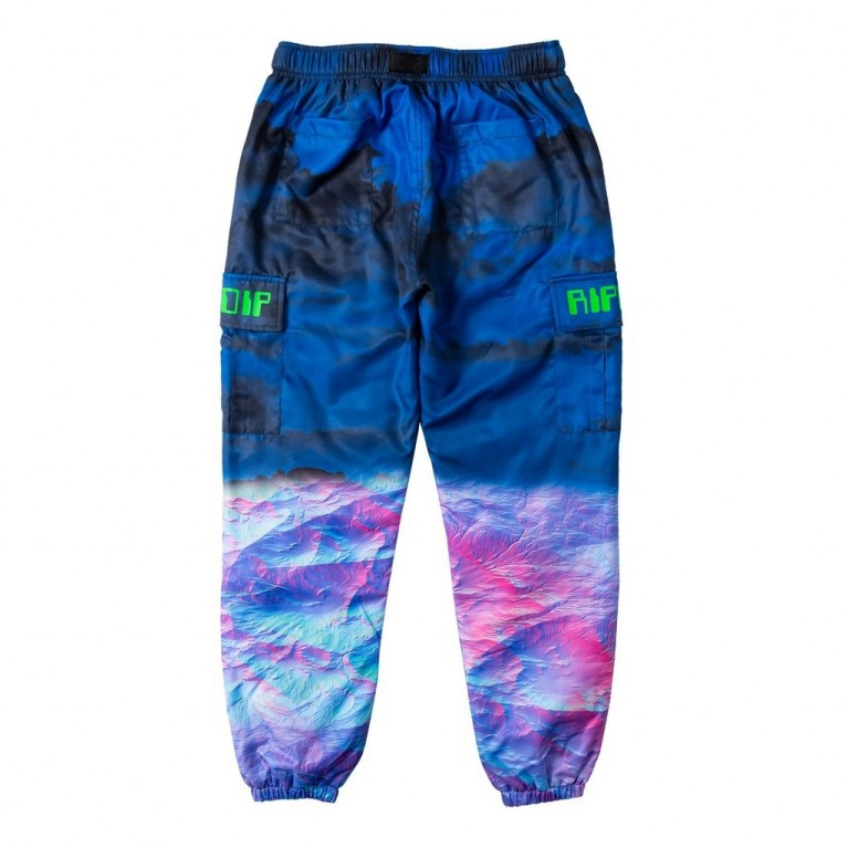 Штаны Ripndip Thermal Nermal Track Pants Blue