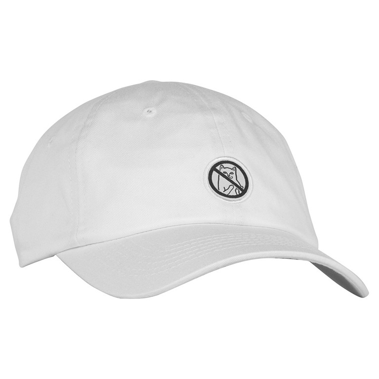 Кепка Ripndip Hooked Dad Hat White