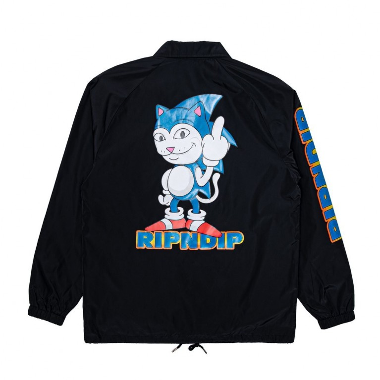 Куртка Ripndip Nermhog Coach Jacket Black