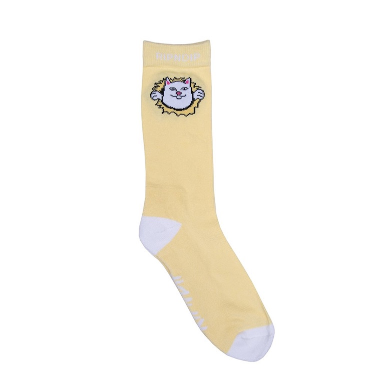 Носки RIPNDIP Nermamaniac Socks Yellow