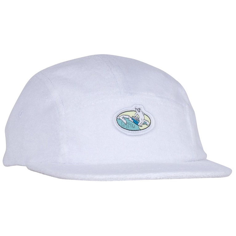 Кепка Ripndip Paradise 5 Panel Terry Cloth White
