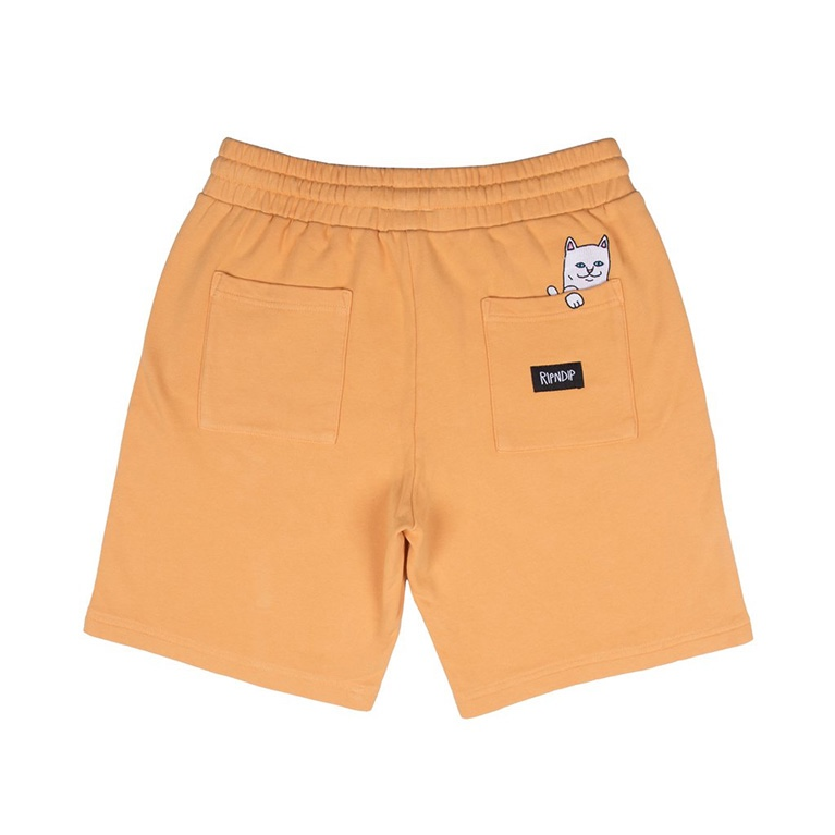 Шорты Ripndip Peek A Nerm Over Dye Sweat Shorts Orange