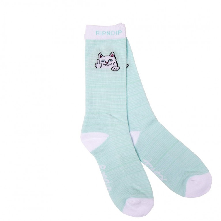 Носки Ripndip Peeking Nermal Socks Mint