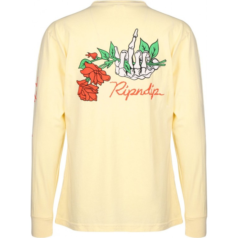 Лонгслив Ripndip Dead Rose L/S Yellow