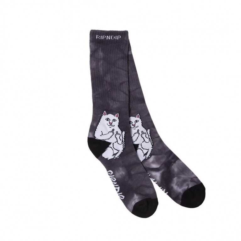 Носки Ripndip Lord Nermal Socks Black Lighting