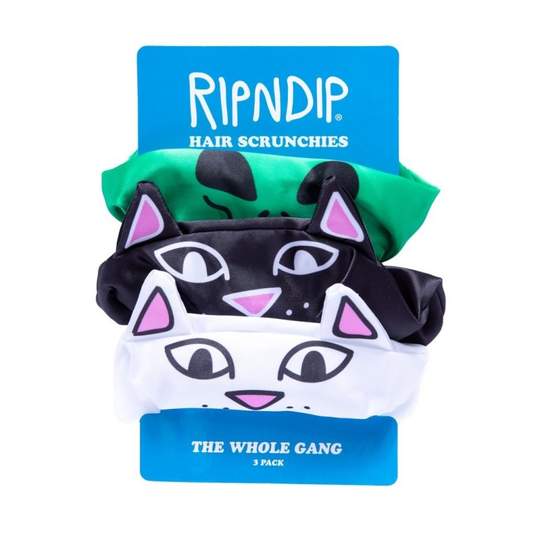 Заколка Ripndip Whole Gang Hair Scunchies 3 pack