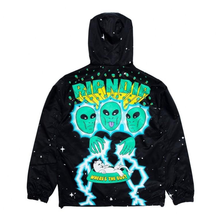 Анорак Ripndip Nebulan Anorak Jacket Black