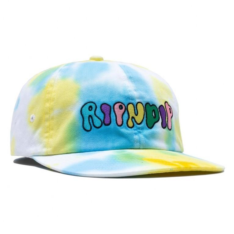 Кепка Ripndip Boomer Gang Cotton 6 Panel Hat Yellow/Blue