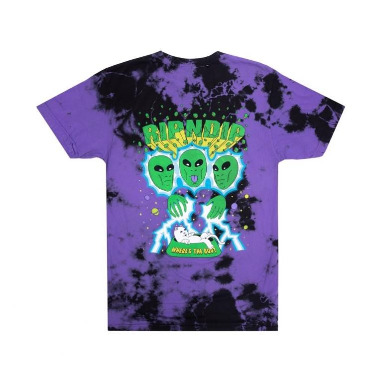 Футболка Ripndip Nebula Tee Purple/Black Dye