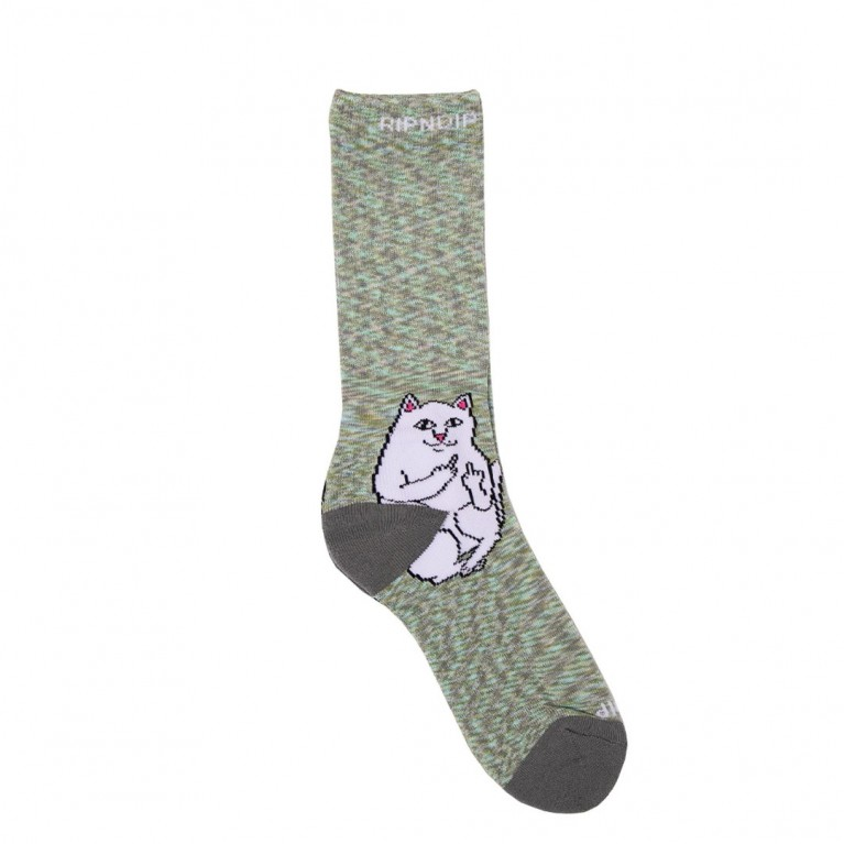 Носки Ripndip Lord Nermal Socks Grey Speckle