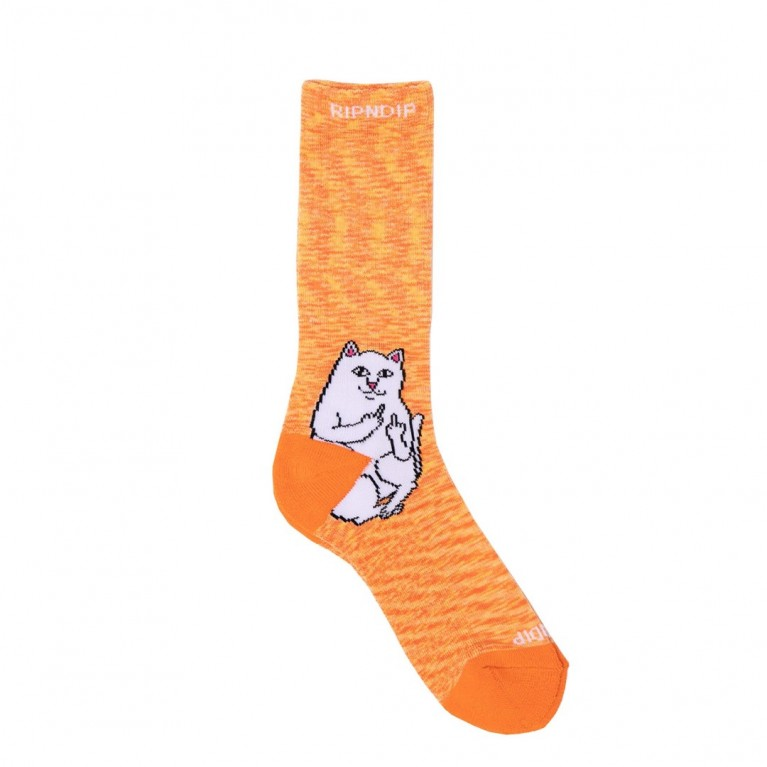 Носки Ripndip Lord Nermal Socks Orange Speckle