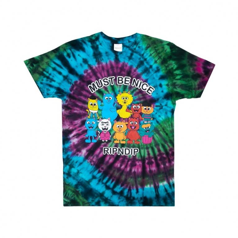 Футболка Ripndip Nerm Fighter Tee Tie Dye