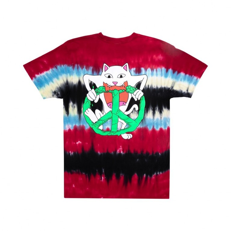 Футболка Ripndip Peace No Love Tee Tie Dye