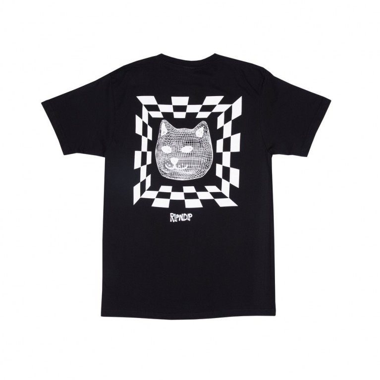 Футболка Ripndip Illusion Tee Black