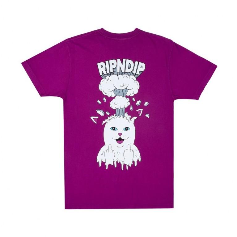Футболка Ripndip Mind Blown Tee Purple
