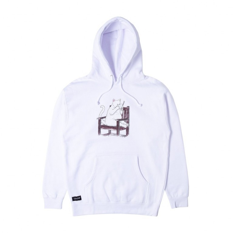 Тостовка Ripndip Take Out Hoodie White