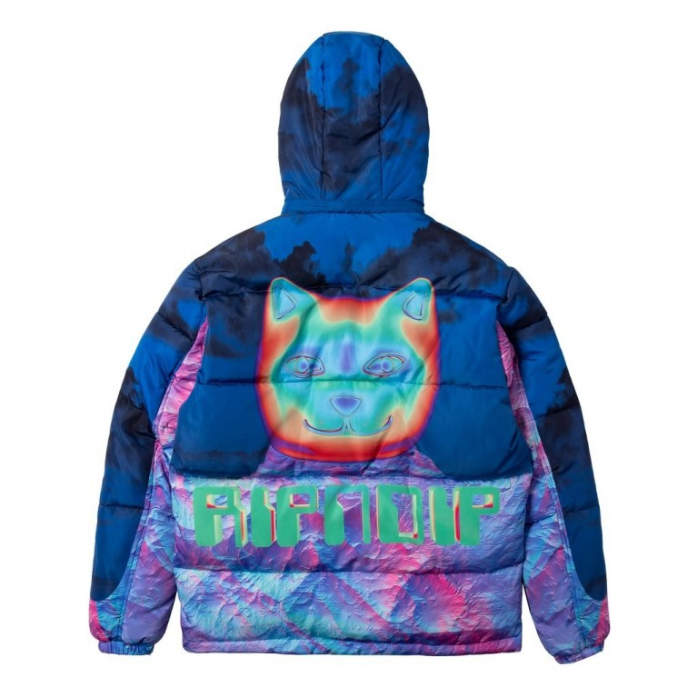 Куртка Ripndip Thermal Nermal Puffer Jacket Blue