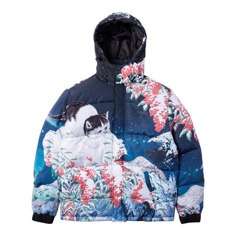 Куртка Ripndip Snow Bird Puffer Jacket Multi