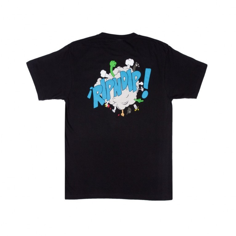 Футболка Ripndip Break Out Tee Black