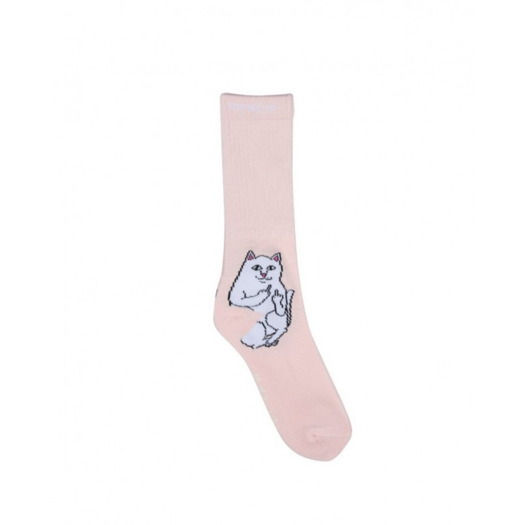 Носки ripndip lord nermal socks pink