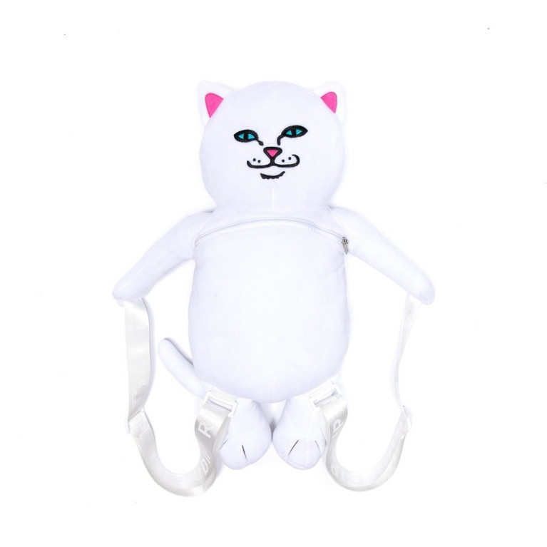 Рюкзак Ripndip Lord Nerm Plush Backpack White