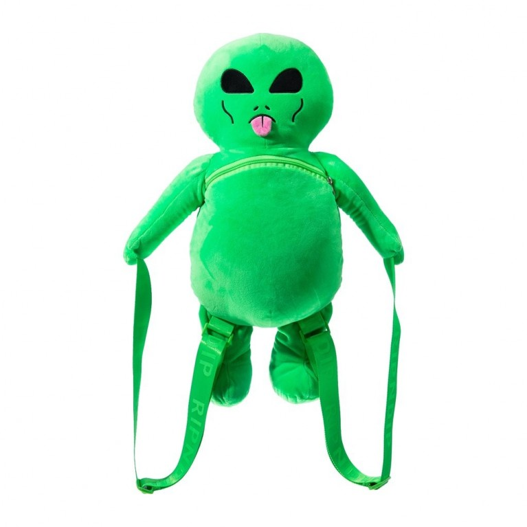 Рюкзак Ripndip Lord Alien Plush Backpack Green