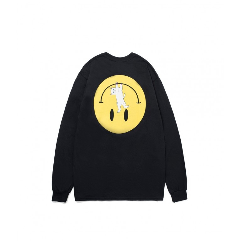 Лонгслив RIPNDIP EVERYTHING WILL BE OK LS BLACK