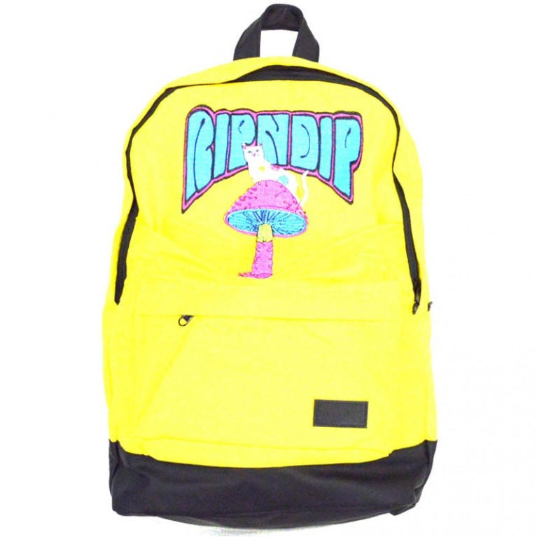 Рюкзак Ripndip Psychedelic Backpack Black Yellow
