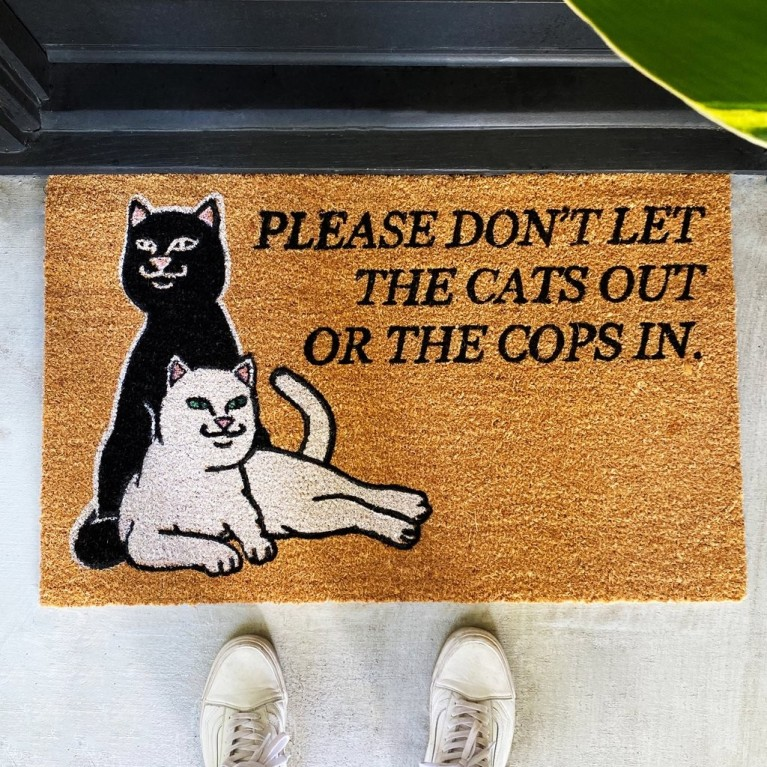 Коврик Ripndip Don't Let The Cops In Rug