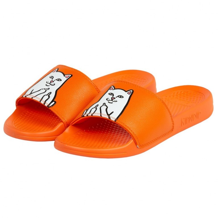 Тапочки Ripndip Lord Nermal Slides Safety Orange