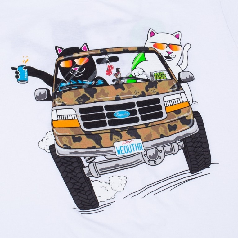Футболка Ripndip The Whole Gang Tee White