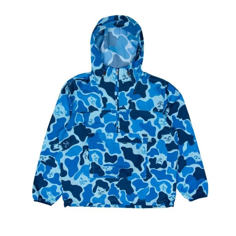 Анорак Ripndip Nerm Camo Fanorak Jacket Blue Camo