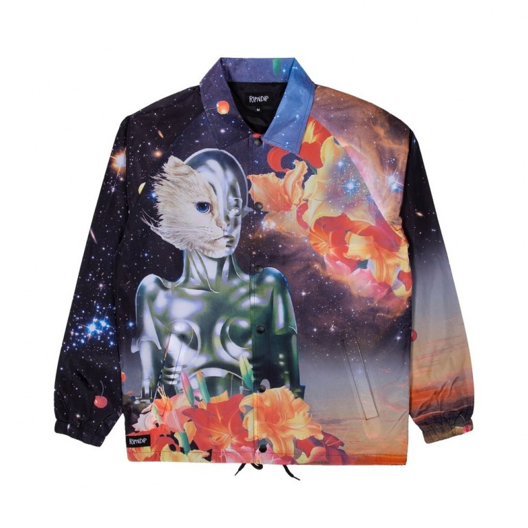 Куртка Ripndip Galactica Coaches Jacket Black