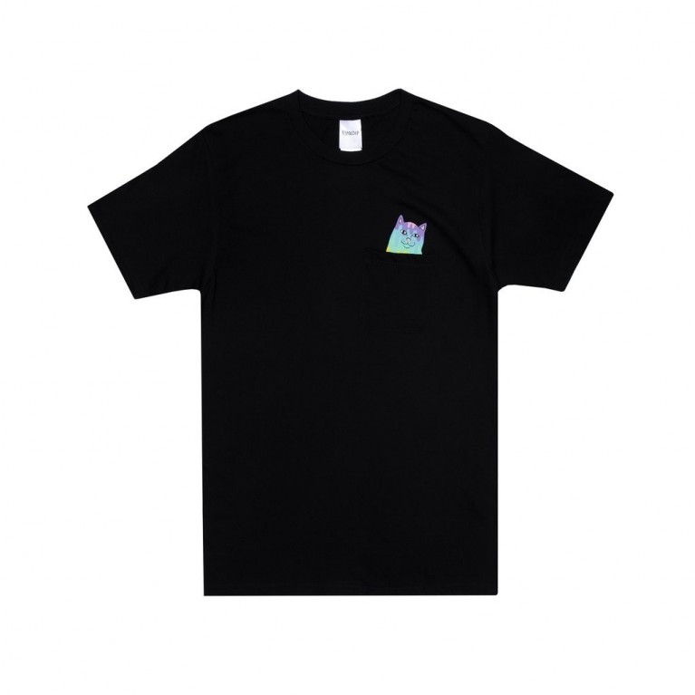 Футболка Ripndip Rainbow Nerm Pocket Tee Black