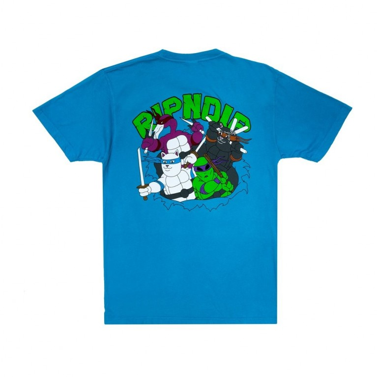Футболка Ripndip Teenage Mutant Tee Blue