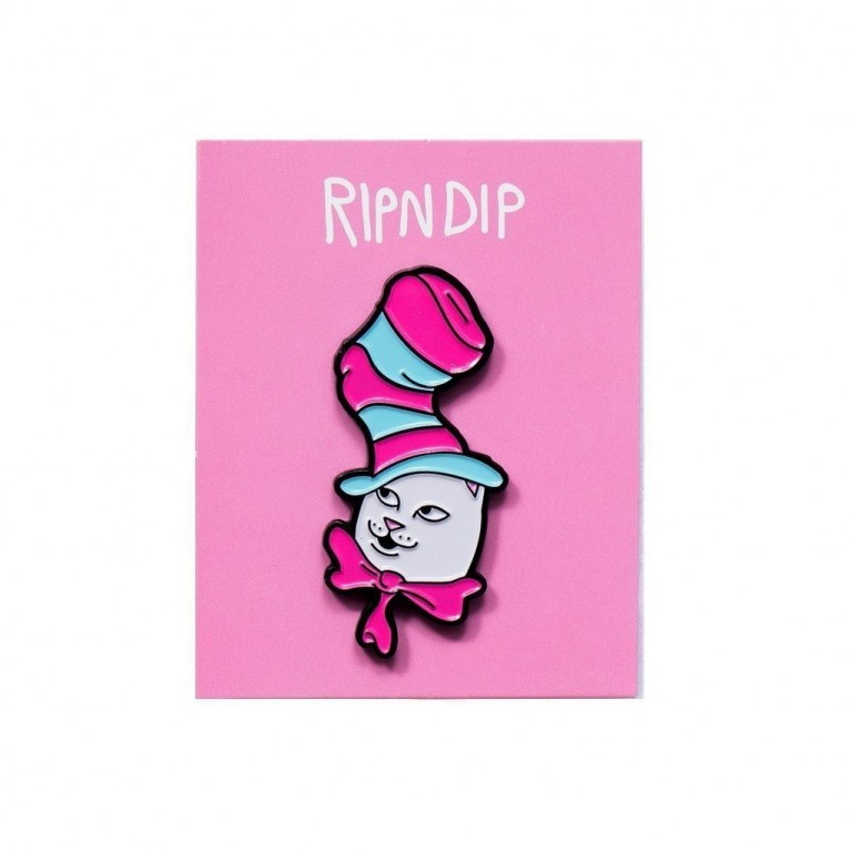 Значок Ripndip Nerm In The Hat Pin