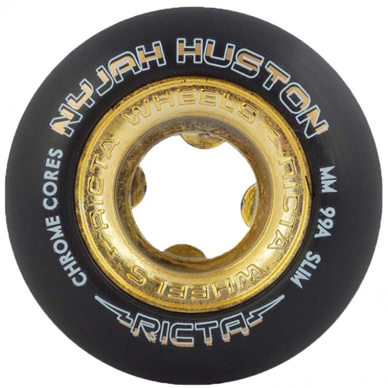 Колеса Ricta Nyjah Huston Chrome Core Gold 99a 53mm