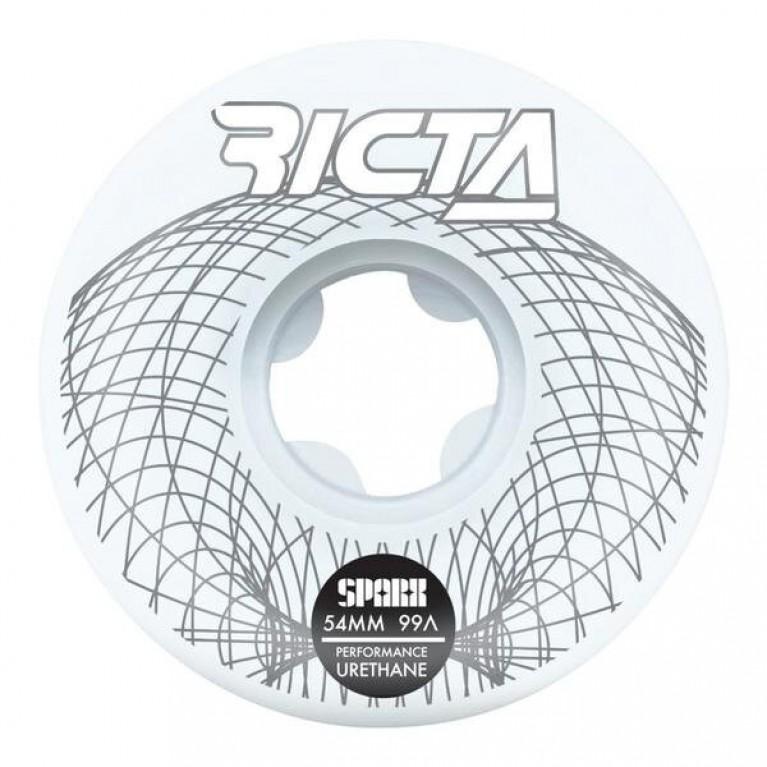 Колесо (комплект) Ricta Wireframe Sparx 54mm  99a