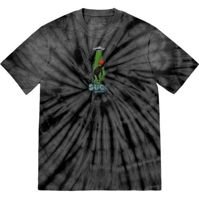 Футболка Succ Abduction T-Shirt Black Tie Dye