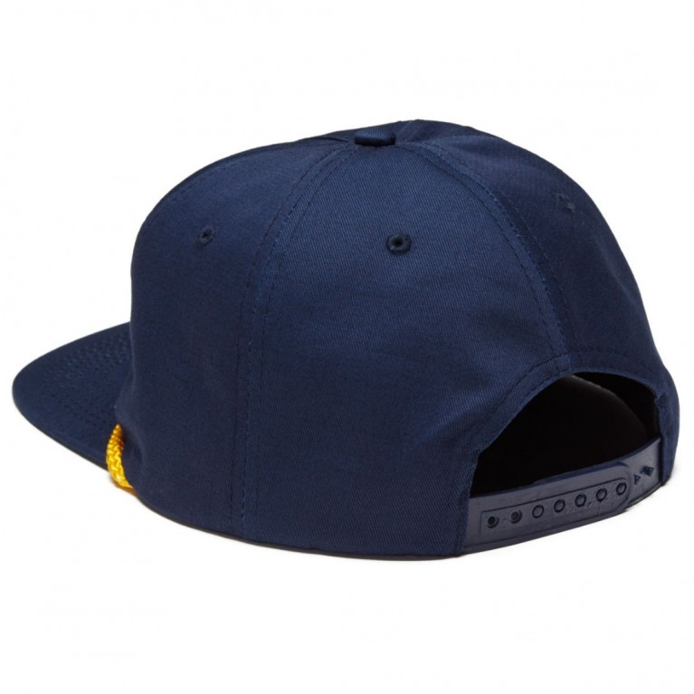 Кепка Thrasher FLAME ROPE SNAPBACK NAVY