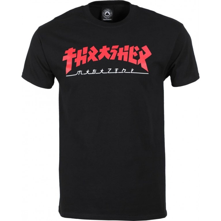 Футболка Thrasher Godzilla Black