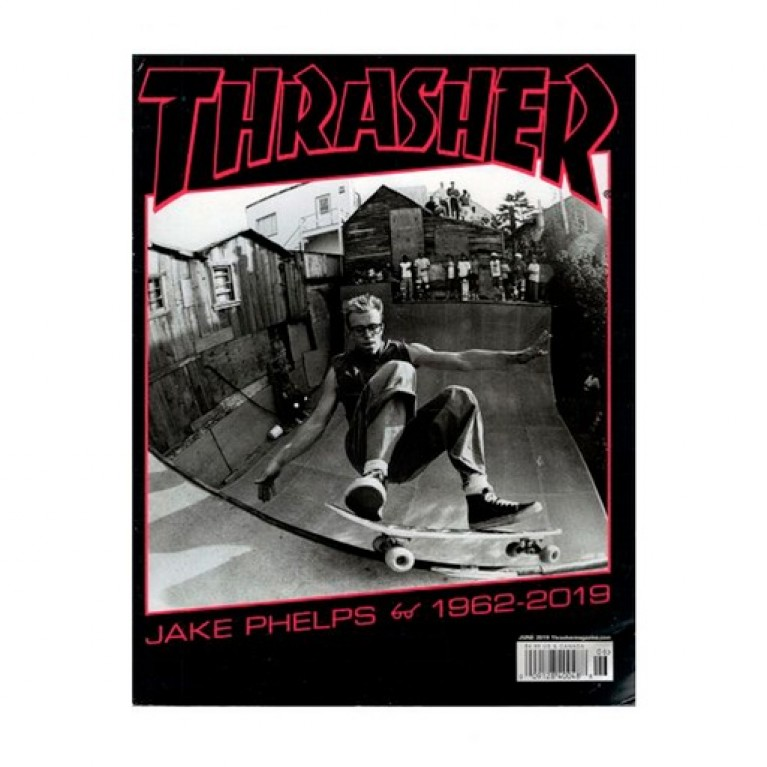 Журнал Thrasher Magazine June 2019