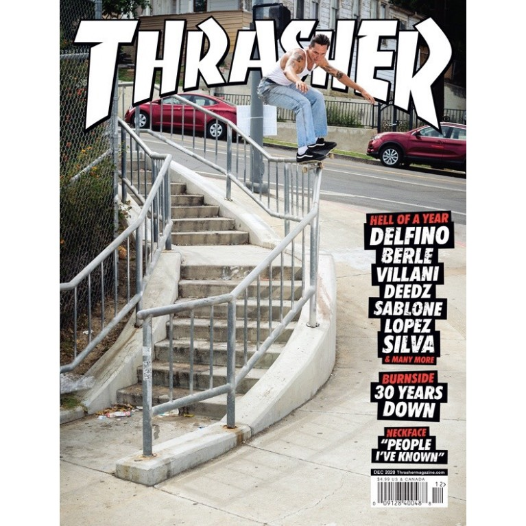 Журнал Thrasher Magazine December 2020