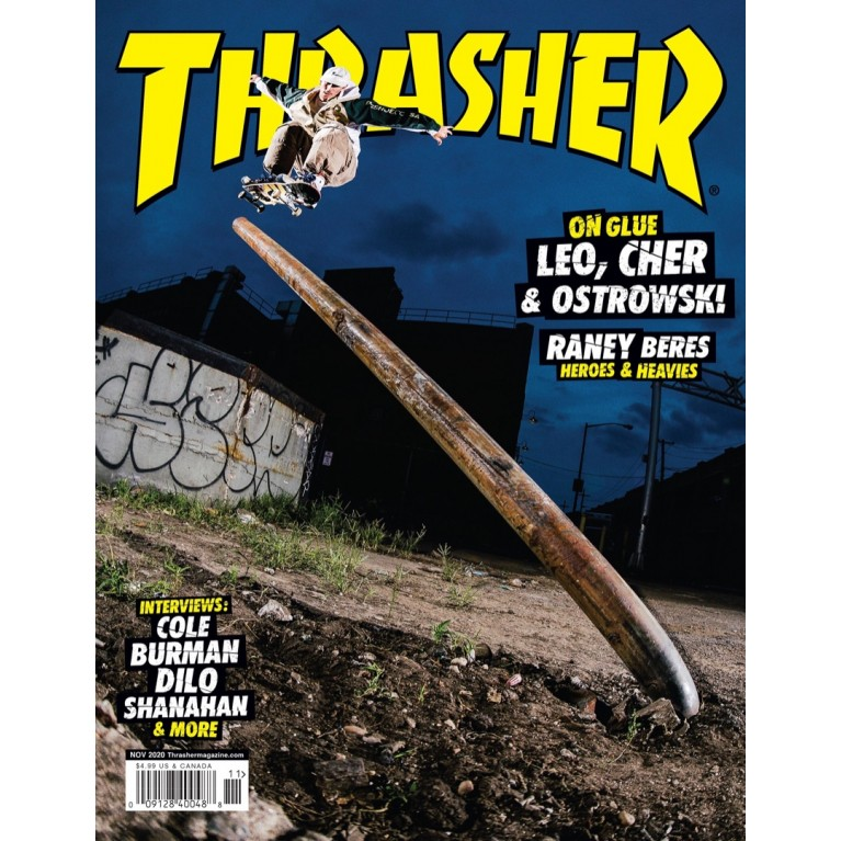 Журнал Thrasher Magazine November 2020