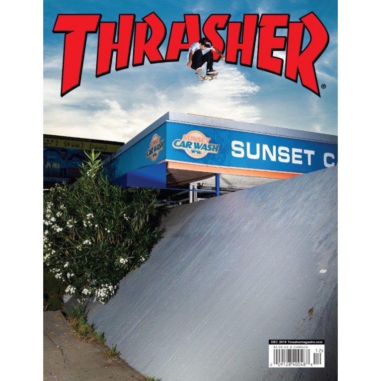Журнал Thrasher Magazine December 2019