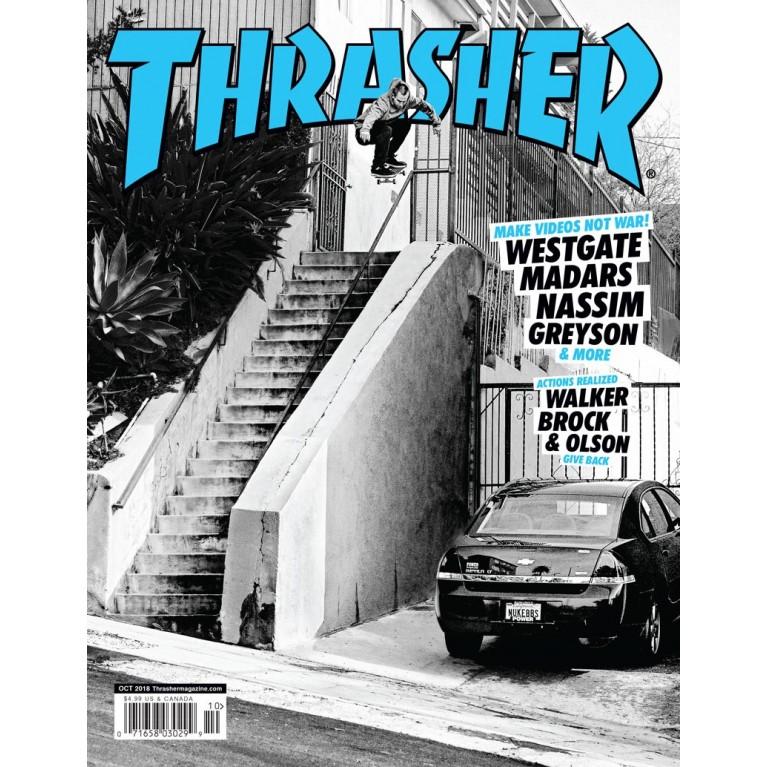 Журнал Thrasher Magazine October 2018