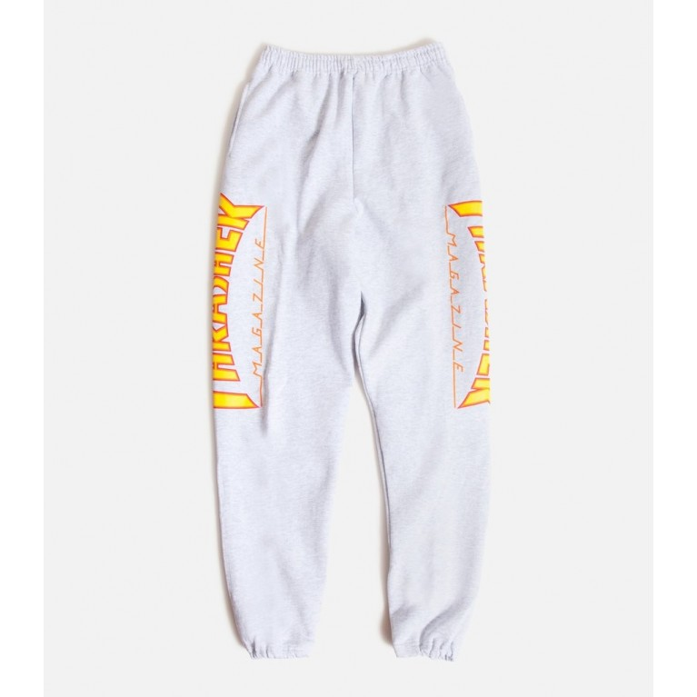 Штаны Thrasher Flame Sweatpants Grey