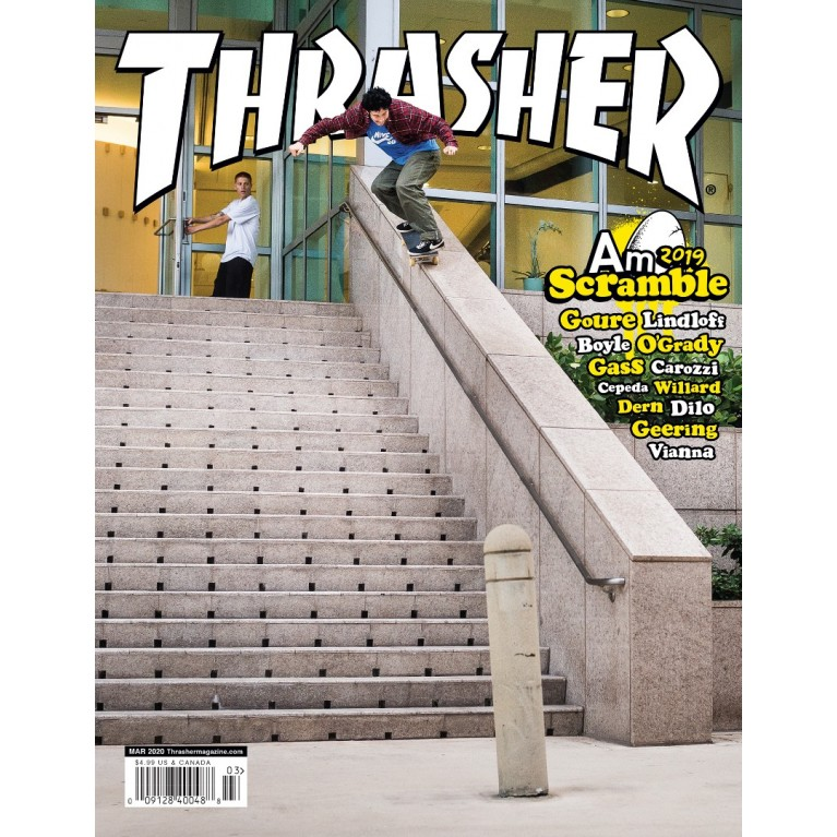 Журнал Thrasher Magazine March 2020