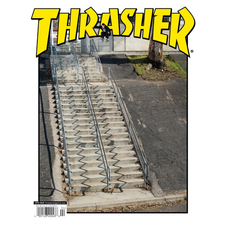 Журнал Thrasher Magazine April 2020