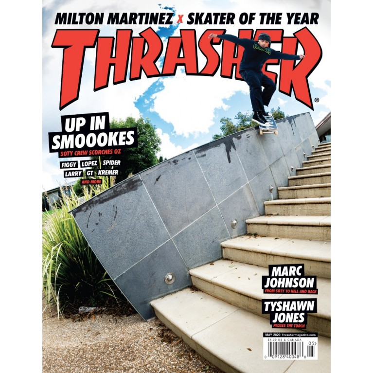 Журнал Thrasher Magazine May 2020
